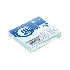Notite adezive Forpus 42018 75x75 mm 80 file albastru pastel