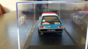 macheta renault 17 gordini rallye de monte carlo 1975 - atlas, 1/43.