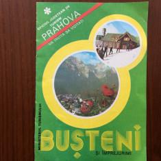 Pliant oficiul judet turism prahova va invita sa vizitati busteni si imprejurimi