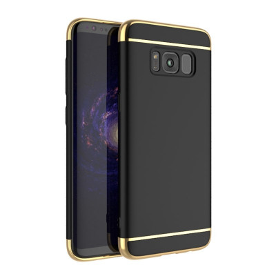 Husa SAMSUNG Galaxy S8 Plus - Ipaky 3in1 (Negru) foto