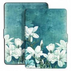 Husa Tech-Protect Smartcase Amazon Kindle Paperwhite 1/2/3 Magnolia
