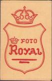 A1249 Plic rama fotografie interbelic studio Foto Royal romanesc vechi