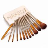 Set Pensule Machiaj din Par sintetic tip Naked 3, make-up new generation, Urban Trends r