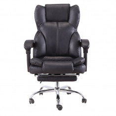 Scaun de birou directorial cu suport picioare, func?ie ?ezlong SIB818 foto