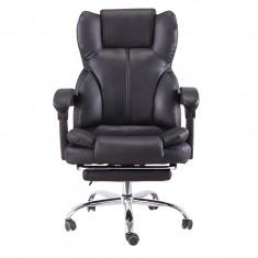Scaun de birou directorial cu suport picioare, funcție șezlong SIB818