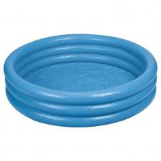 Piscina gonflabila pentru copii Intex Crystal 58446NP, 168 x 38 cm, Albastru