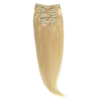 Clip-On Par Natural 60cm 100gr Blond Deschis #60 foto