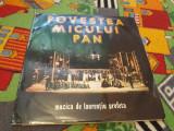 VINIL LAURENTIU PROFETA-POVESTEA MICULUI PAN ECE 02738/02739 DISC STARE FB