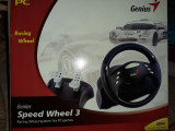 Volan +pedala Genius Speed Wheel 3