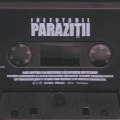 Caseta Paraziții – Irefutabil, fara coperta!