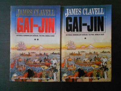James Clavell - Gai Jin  2 volume foto