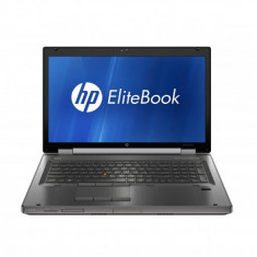 Laptop HP EliteBook 8760w, Intel Core i7 Gen 2 2630QM 2.0 GHz, 16 GB DDR3, 128 GB SSD NOU, DVDRW, Placa Video NVIDIA Quadro 3000M, Wi-Fi, Bluetooth,