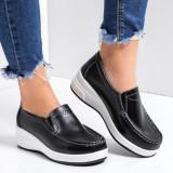 Pantofi dama piele naturala negri Letisia-rl