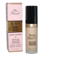 Anticearcan multifunctional Too Faced Born This Way Super Coverage Nuanta...