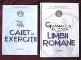 GRAMATICA DE BAZA A LIMBII ROMANE + CAIET DE EXERCITII, G. Pana Dindelegan, 2016