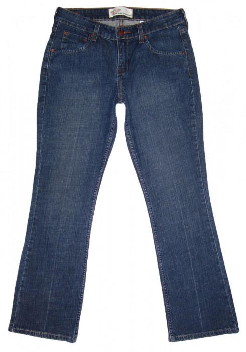 Blugi Dama Levis Jeans LEVI STRAUSS - MARIME: Misses 4 Short - (Talie = 79 CM)
