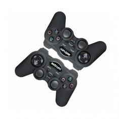 Analog Joypad Astrum GP220 Vibra Dual Kit (Set 2 Buc) USB Negru
