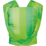 Sling Be Close N17 EKO Womar Zaffiro, bumbac, 0 luni+, Verde
