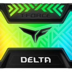 SSD TeamGroup T-Force Delta, 500GB, SATA III, 2.5inch, Iluminare RGB (Negru)