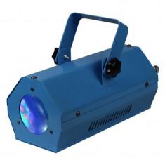 Joc de lumini Ibiza Moon, efect RGBWA, 56 Led-uri, albastru