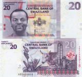Swaziland 20 Emalangeni 2017 UNC