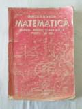 M. Ganga - Matematica - Manual pentru clasa a IX-a profil M1 M2