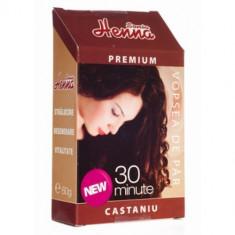 Vopsea de par Henna Premium 30 minute castaniu 60 g - R