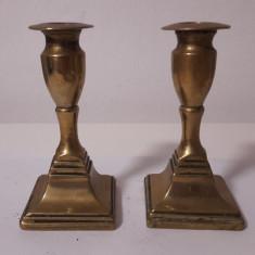 pereche de sfesnice din bronz