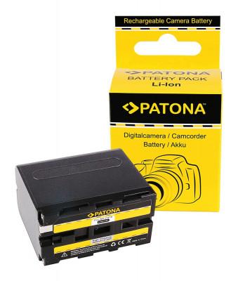 PATONA | Acumulator compatibil Sony NP-F970 NPF970 NP F970 F960 NPF960 6600mAh foto