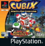 Joc PS1 Cubix - Robots for everyone - Race N Robots - E