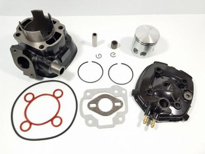 Kit Cilindru - Set Motor + Chiuloasa Scuter Malaguti F12 80cc - RACIRE APA foto
