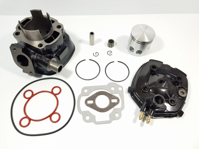 Kit Cilindru - Set Motor + Chiuloasa Scuter Malaguti F12 80cc - RACIRE APA