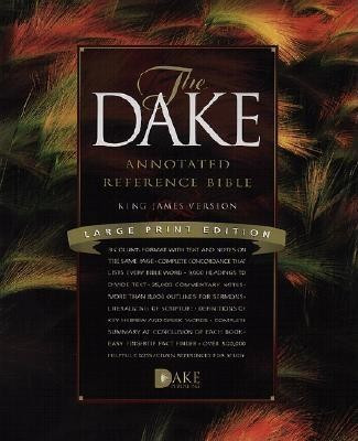 Dake Annotated Reference Bible-KJV-Large Print