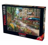 Cumpara ieftin Puzzle Anatolian Paris Flower Market, 1000 piese