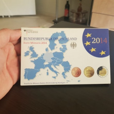 Set de monetarie GERMANIA litera F 2014 !!!