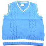 Vesta pentru baietei-Vitamins Baby PLV01T, Albastru