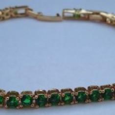 Bratara Luxury Anebris Green Brilliant Crystal
