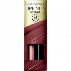 Ruj de buze rezistent la transfer Max Factor Lipfinity 395 So Exquisite 2.3 ml 1.9 g