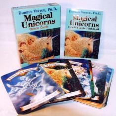 Magical Unicorn-Carti ORACOL/TAROT editie de lux(AURII) ORIGINALE,Eng/SIGILAT