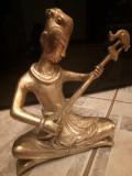 Sculptura,statueta deosebita din bronz masiv in stil Art-Deco
