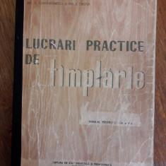 Manual de tamplarie 1960 - V. Constantinescu / R5P3F