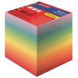 Cumpara ieftin Bloc notite color Herlitz, 9x9x9 cm, 800 file curcubeu