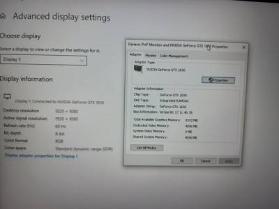 Nou Laptop Gaming Lenovo Legion Y7000 usor negociabil !! foto