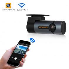 Camera Auto DVR AutoVox D6 PRO GPS Panasonic MN34227 1080p Wi-Fi UltraHD