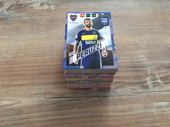 Panini FIFA 365 2018 Adrenalyn XL Set 190 carduri Team Mates diferite