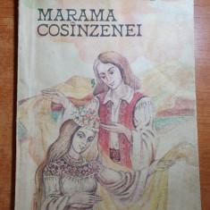 carte pentru copii - marama cosanzenei - 1985