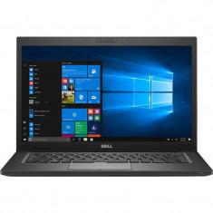 Laptop Dell Refurbished Latitude E7250 12.5 inch FHD Intel Core i5-5300U 8GB DDR3 128GB SSD Webcam Windows 10 Pro Black