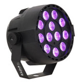 Cumpara ieftin Proiector DMX LED/UV, 12 x 2 W, microfon, 4 canale
