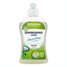 Detergent Ecologic Lichid pentru Vase Sensitiv Sodasan 500ml Cod: 4019886023566