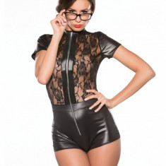 Kitten Body Jumper Latex si Dantela